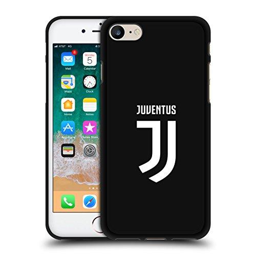 Offizielle Juventus Football Club Einfarbig Verschiedene Designs Schwarze Soft Gel Huelle kompatibel mit iPhone 7 / iPhone 8