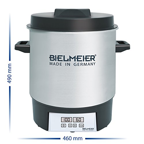 417xlcFITWL. SS500  - Bielmeier BHG 411.0 Digital Preserving Cooker, 1800 W