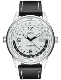 Davosa Herren-Armbanduhr Analog Edelstahl weiss 16246314