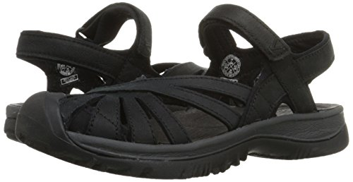 Keen Whisper Leather Womens Sandal De Marche - SS15 Noir
