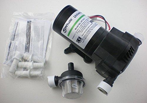 Whale Universal Fresh Water Pressure Pump 12ltr 12 volt Test