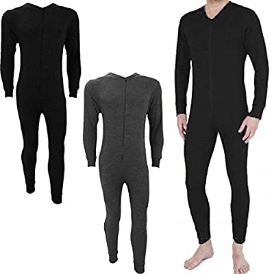 Mens Thermal Underwear Tops, Vest, Long Johns, Onesie Thermal All In Ones Winter