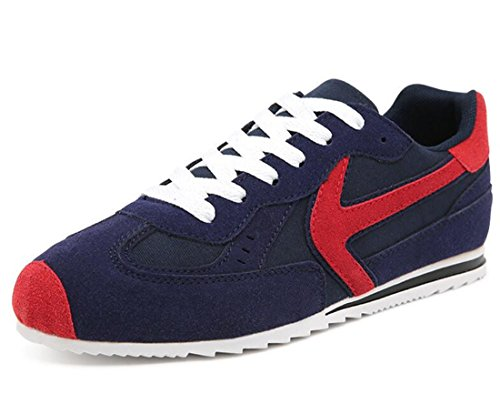 Men's Comfortable Non Slip Skateboarding Shoes Navy