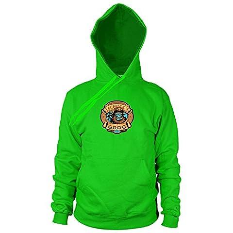 LeChuck's Grog - Herren Hooded Sweater, Größe: XXL, Farbe: grün