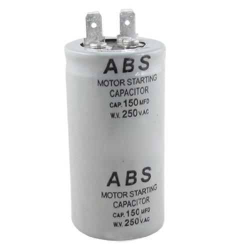 ABS Series 150MFD 150uF 250V AC Motor start condensator 250v Motor