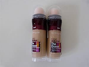 Maybelline Instant Age Rewind Eraser Foundation - Nude (2-pack)