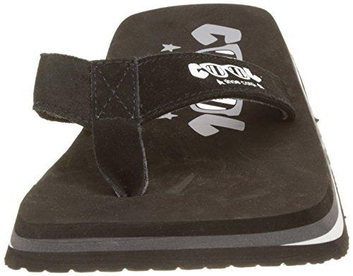 Cool Shoes, Sandali uomo Nero (Black)