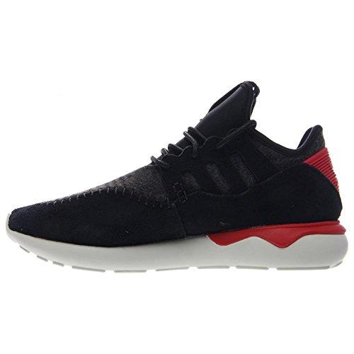 Adidas Tubular Moc Runner (core Noir / tomate Rouge) Chaussures B24693 (6) Black-Tomato-White