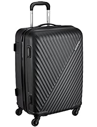 American Tourister Skyrock ABS 65 cms Black Hardsided Check-in Luggage (AMT SKYROCK SP 65 cm Black)
