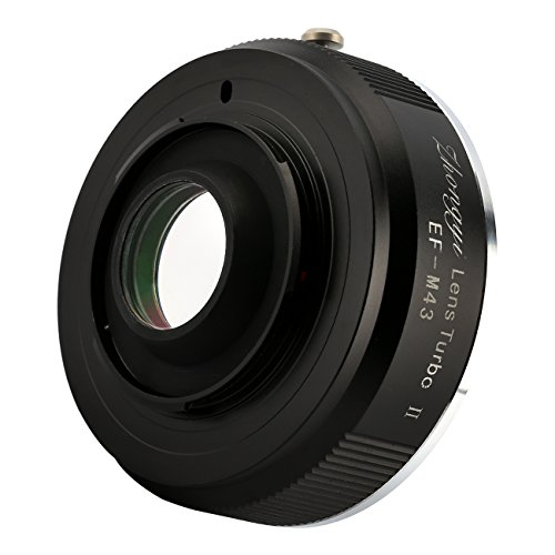 Compare Prices for Zhongyi Lens Turbo II EF-M43 Focal Reducer Booster Adapter for Canon EOS Lens to Olympus Panasonic Cameras Discount