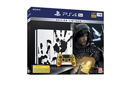 PlayStation 4 (PS4) - Sony Pro Death Stranding Consola PS4 Edición Limitada