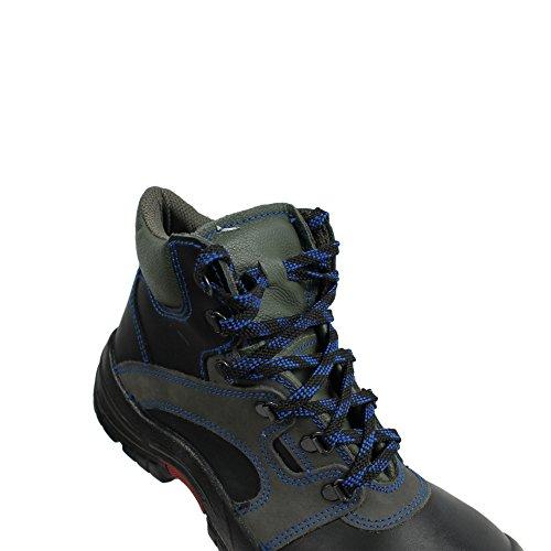 Lupos xL - 21 s3 berufsschuhe businessschuhe chaussures de chaussures de sécurité chaussures de travail noir Schwarz