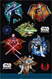 from Party Bags 2 Go Star Wars The Clone Wars Tablecover Model 30605TC