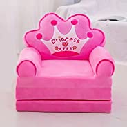 1 Pies Kids Sofa Chair Seat Birthday Festival Gifts Dolls Toys for Girls Boys 1-15 Year Old Kids Foldable Anim