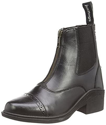 Just Togs Women Beaumont Riding Boots - Black, Size 5