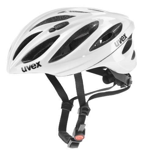 Uvex Boss Race Fahrradhelm, White, 55-60 cm