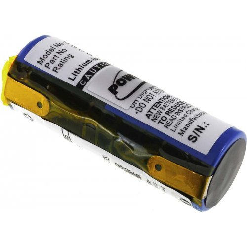 Akku für Rasierer Philips Norelco HQ8894, 3,7V, Li-Ion