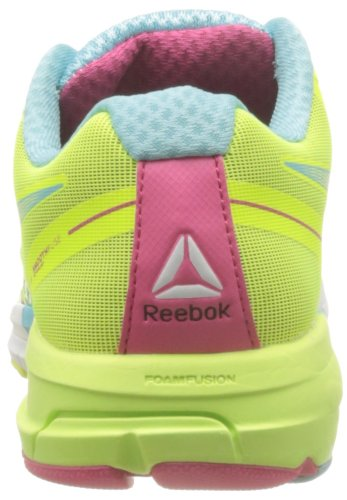 Reebok Reebok One Guide, Chaussures de running homme Blanc (White/Hydro Blue/Pink/Neon)