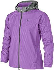Nike Vapor Chaqueta de running Chaqueta Infantil, color lila/gris, XL de 158/170