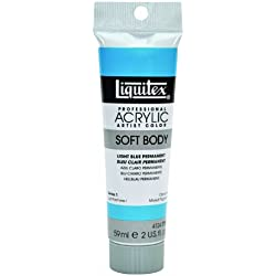 Liquitex Professional - Pintura acrílica soft body, tubo 59 ml, color azul claro