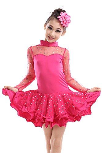 n Tanz Rock Frühling und Sommer Mädchen Performance Kostüme (Halloween Kostüm Ideen Kind)