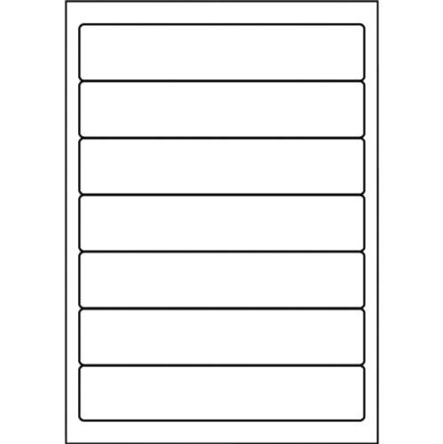 5Star Étiquettes pour adresse Retour imprimable 192x 38mm Blanc Lot de 700