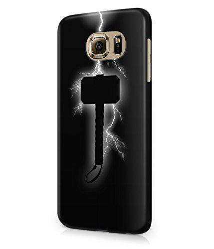 Thor God Of Thunder Hammer The Avengers Superhero Plastic Snap-On Case Cover Shell For Samsung Galaxy S6