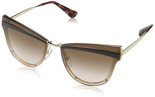 Ray-Ban Damen 0pr 12us Sonnenbrille, Pale Gold/Antique Pink/Brown, 65