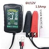 Motocicletta ATV, Maso 12 V Mantenitore 1.5 A 4 fasi di irrigazione automatica carica batterie SLA AGM gel della batteria al piombo acido Smart caricatori per auto moto barca