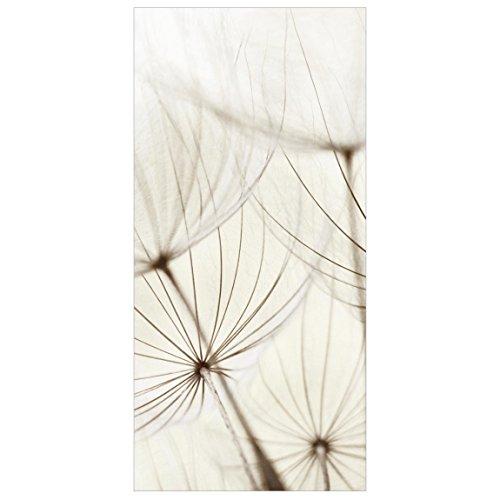 Panel japones Gentle Grasses 250x120cm | paneles japoneses separadores de ambientes cortina paneles japoneses cortina cortinas | Tamaño: 250 x 120cm incl. soporte transparente