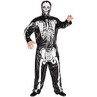 Costume da uomo - fantasma urlante | Costume intero | Agghiacciante maschera (L | no. 300095)