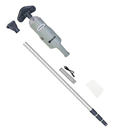 Intex 28620 - Aspiradora manual con eje de aluminio telescópico