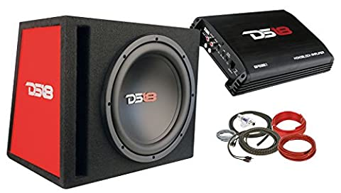 DS18 BP110 600W Complete Bass Package with 10