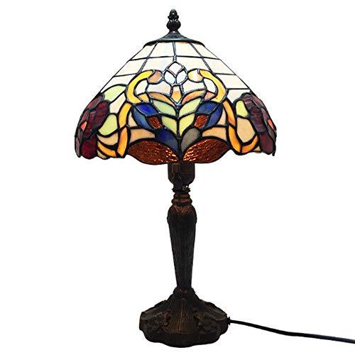 Y&HY Tiffany Style Hand Made Tischlampe, Glas Material Lampenschirm Leselampen Schlafzimmer Bar Schreibtisch Lichter