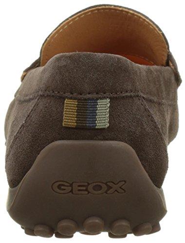Geox Uomo Snake Mocassino F, Mocassins Homme Marron (Chocolatec6005)