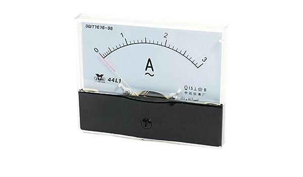 3A 44L1 Jauge de mesure Outil de mesure analogique pour amp/èrem/ètre AC 0