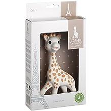 Babyspielzeug Sophie die Giraffe mit Geschenkkarton, weiß