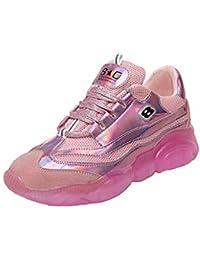 02cc2d5e8631b Mode féminine Cool Sport Chaussures en Plein air Bling Lacez Filles Couleur  Sneaker Marque Basket Pas Cher Plate Grande Taille New Balance…