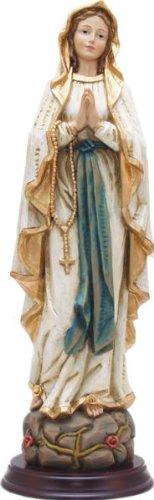 Madonna, Madonna Lourdes, Holzoptik, Höhe 20cm