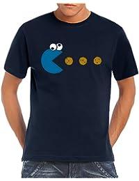 Touchlines Herren T-Shirt Cookie - Pacman