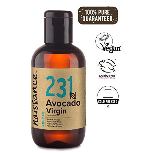Naissance Avocadoöl nativ (Nr. 231) 100ml 100% rein kaltgepresst - Körper-haar-Öl