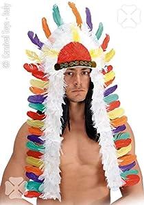Carnival Toys- Diadema India 1938 Accesorios Disfraz Fiesta y Carnaval 856, Multicolor, 8004761019389