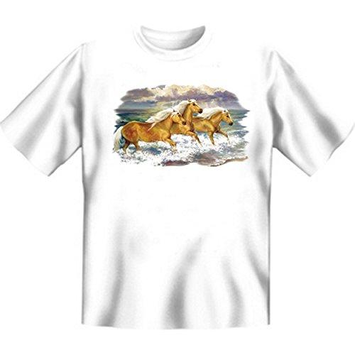 Palominos Faszination Pferde Tshirt Fantasea Ponies Gr XXL in weiss