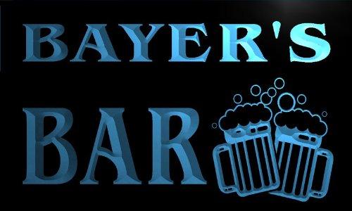 w003529-b-bayers-nom-accueil-bar-pub-beer-mugs-cheers-neon-sign-biere-enseigne-lumineuse