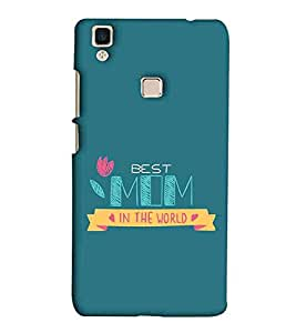 For Vivo V3 beautiful icon ( beautiful iocn, pink flower, flower, pattern ) Printed Designer Back Case Cover By Eaglehawk
