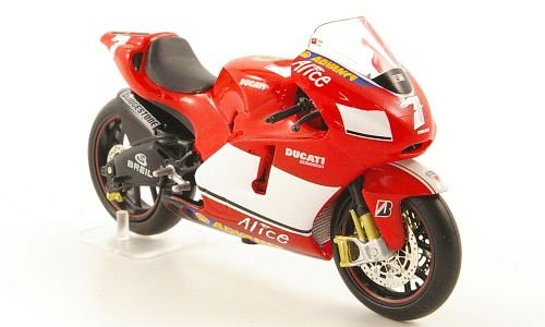 Ducati Desmosedici, No.7, MotoGP, 2005, Modellauto, Fertigmodell, MCW-SC11 1:24