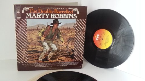 MARTY ROBBINS the double barrelled marty robbins, double album, gatefold, S 80930