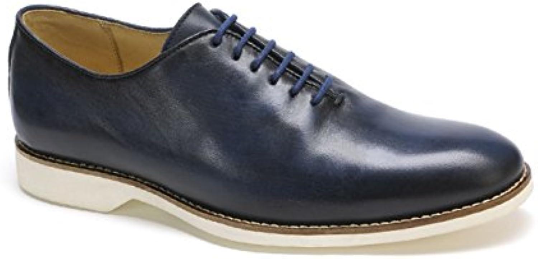 Anatomic & Co - Zapatos de Cordones de Piel para Hombre Azul Anil -