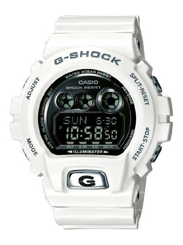 CASIO G-Shock GD-X6900FB-7E - Reloj Digital de Cuarzo con Correa de Resina para Hombre, Color Negro/Blanco