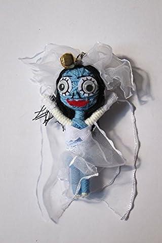 Corpse Bride Corde vaudou Poupée porte-clés Lucky Charm en forme